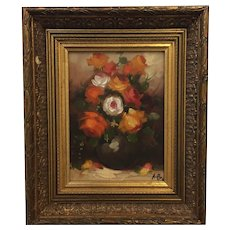 Decorative Oil Painting Still Life of Roses