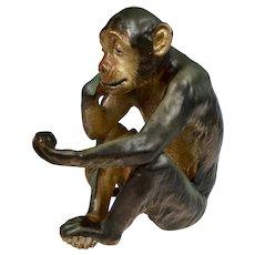 """Bing & Grondahl """"Monkey with Turtle"""""""