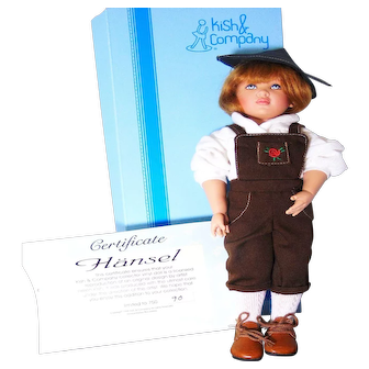 "Helen Kish Doll Vintage 1998 Mint Box Limited Edition 90/750 Nursery Boy Hansel 12"" Original"