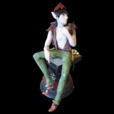 Amazing sculpted male Fairy OOAK