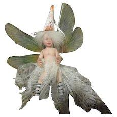 Enchanting Fairy  baby sculpted OOAK