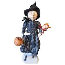 Spellbing  witch by Pat Caska OOAK