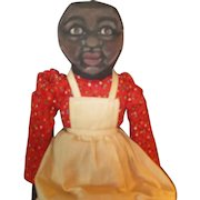 Darling painted cloth Black doll