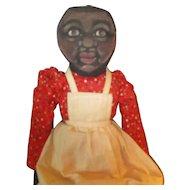 Darling painted cloth Black doll