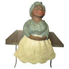 Black Spielman Mammy shelf sitter