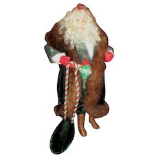 Amazing Santa one of a kind sculpted doll