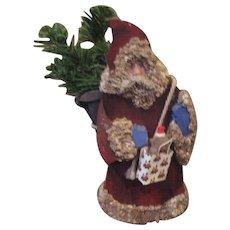 Santa Folk art original