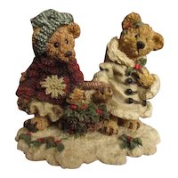 Adorable Christmas Teddy bears display