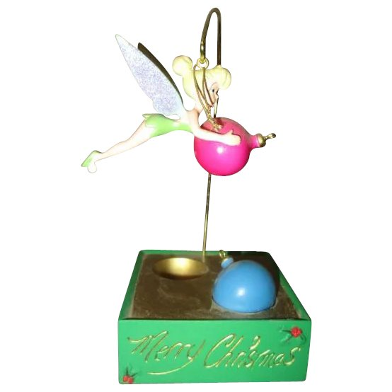 Tinkerbell Christmas Ornament.Tinkerbell With Christmas Ornaments