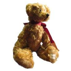 Adorable mohairTeddy bear Humphrey