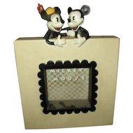 Adorable Mickey & Minnie frame