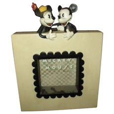 Adorable Mickey & Minnie frame