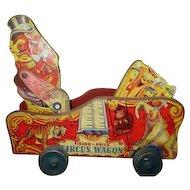 Rare Fisher price Circus wagon 1942