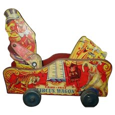 Rare Fisher price Circus wagon 1942