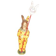 Debbee Thibault Clown Rabbit On Parade 1997 LIMITED EDITION