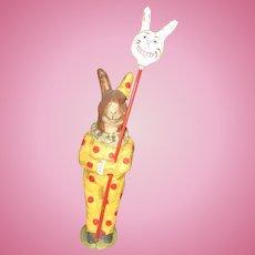 Debbee Thibault Clown Rabbit On Parade 1997 LIMITED EDITION
