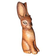 Wood carved Bunny Rabbit
