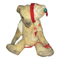 Incredible primitive artist bear OOAK