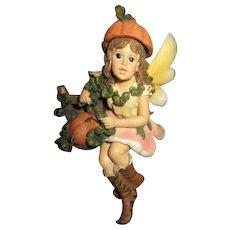 Adorable fall Fairy by Boyd
