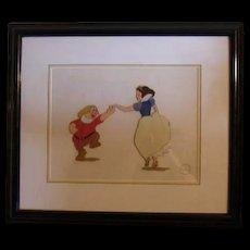 Snow White serigraph cel