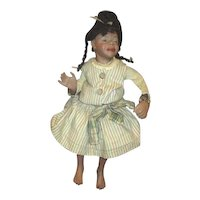 Wonderful sassy bisque Black doll