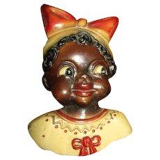 Sweet black girl potholder