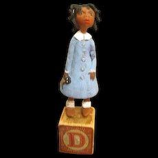 Primitive Black doll by Jude kapron OOAK
