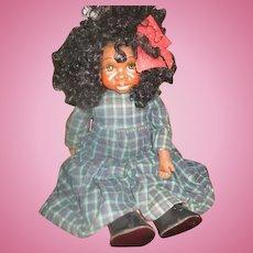Adorable ! black artist doll