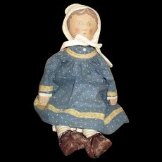 Incredible cloth doll Gail wilson/Kathy Gregg OOAK