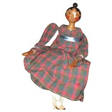 Wonderful sculpted artist doll