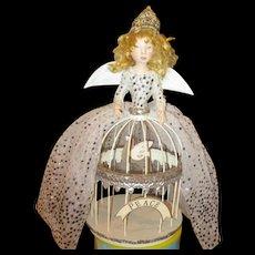 Enchanting Santos cage doll by Jude Kapron