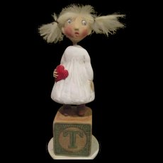 """""""Angel of my Heart"""" by Jude Kapron OOAK sculpt"""