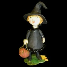 Primitive Witch sculpted by Jude Kapron OOAK