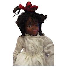 Black doll sculpted by Jude Kapron OOAK