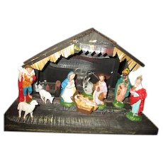 Awesome vintage Nativity