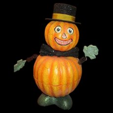 Awesome Vintage Halloween pumpkin