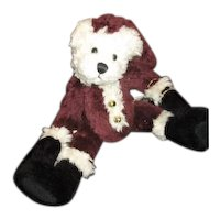 Adorable Teddy bear Santa