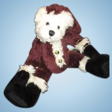 Adorable Teddy bear Santa