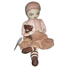 Gorgeous cloth artist doll OOAK