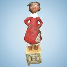Primitive Black doll by Jude kapron OOAK