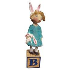 Sweet Bunny doll original sculpt by Jude Kapron