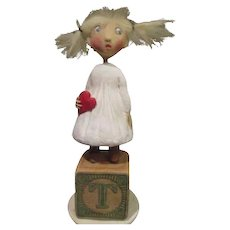 """Angel of my Heart"" by Jude Kapron OOAK sculpt"