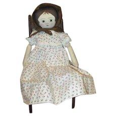 Adorable artist Izannah doll