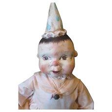 Adorable primitive doll by Patty Cake Primitives