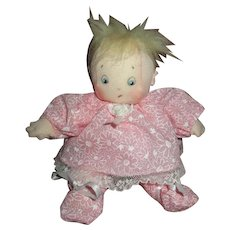 Doll cloth adorable baby