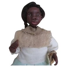 Wonderful Black doll primitive OOAK sculpt