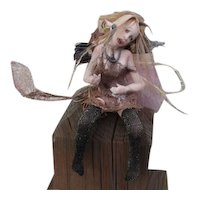 Great Steampunk Fairy by Sandi McAslan OOAK