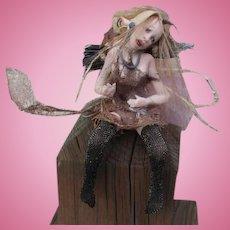 Great Steampunk Fairy by Sandi McAslan OOAK