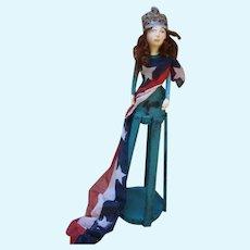 Santos patriotic ~Miss Liberty