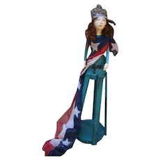 Santos patriotic ~Miss Liberty